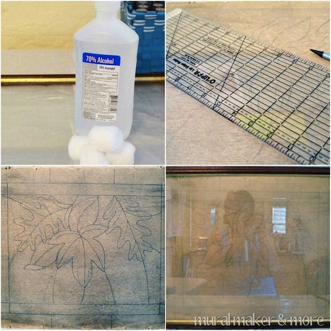 DIY Faux Stained Glass - Steps