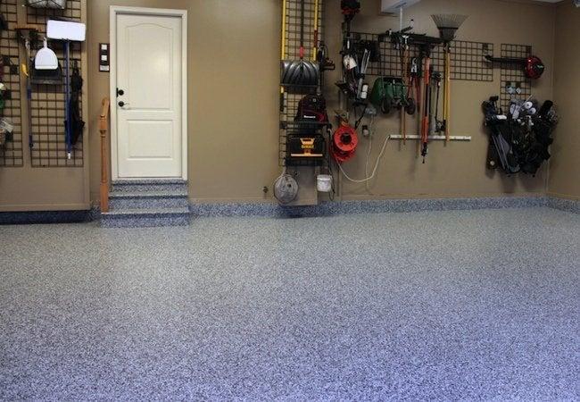 Uneven garage floor gurus