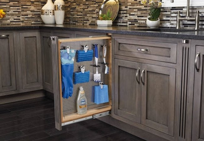 How to Install a Pullout Organizer