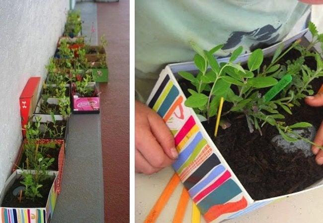 Shoebox Crafts - Planter
