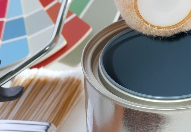 How to Paint Tile - Supplies