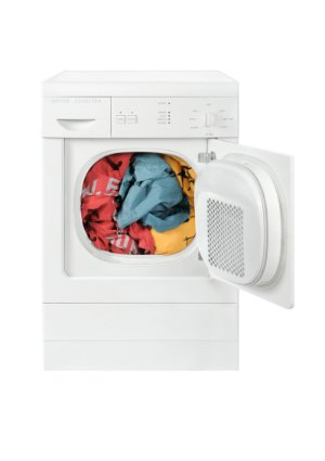 How To Clean a Dryer - Open Appliance