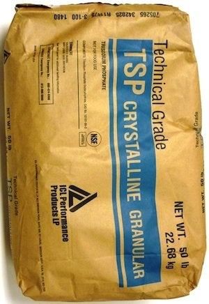 Cleaning with Trisodium Phosphate - Bagged TSP Cleaner