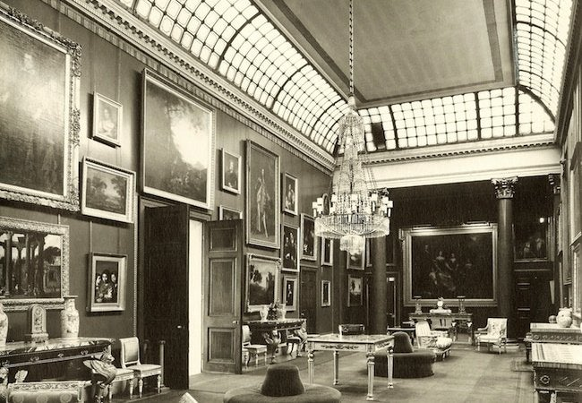 Famous Houses' Leaky Roofs - Attingham House Picture Gallery