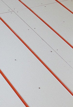 Radiant Heating - Detail Installation