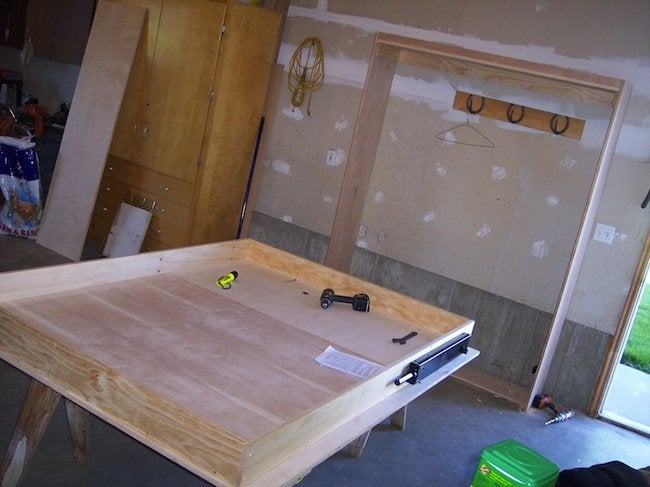 Diy Murphy Bed Process