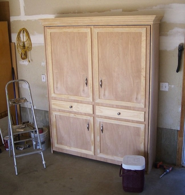 King Size Murphy Bed Mechanism