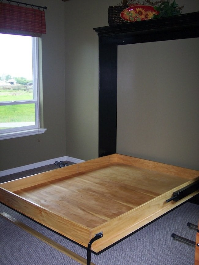 Diy Murphy Bed Genius Bob Vila