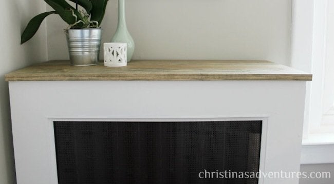 DIY Radiator Cover - Complete