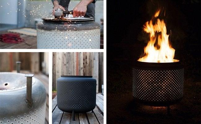 DIY Fire Pit - Drum