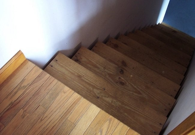 Safer Basement Stairs