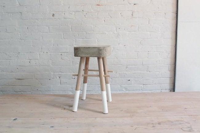 Homemade Modern's Concrete Stool