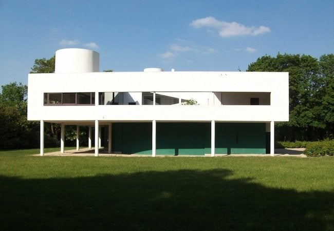 Famous Houses' Leaky Roofs - Villa Savoye