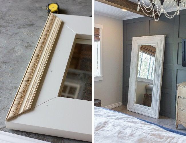 Bedroom Makeover - DIY Mirror