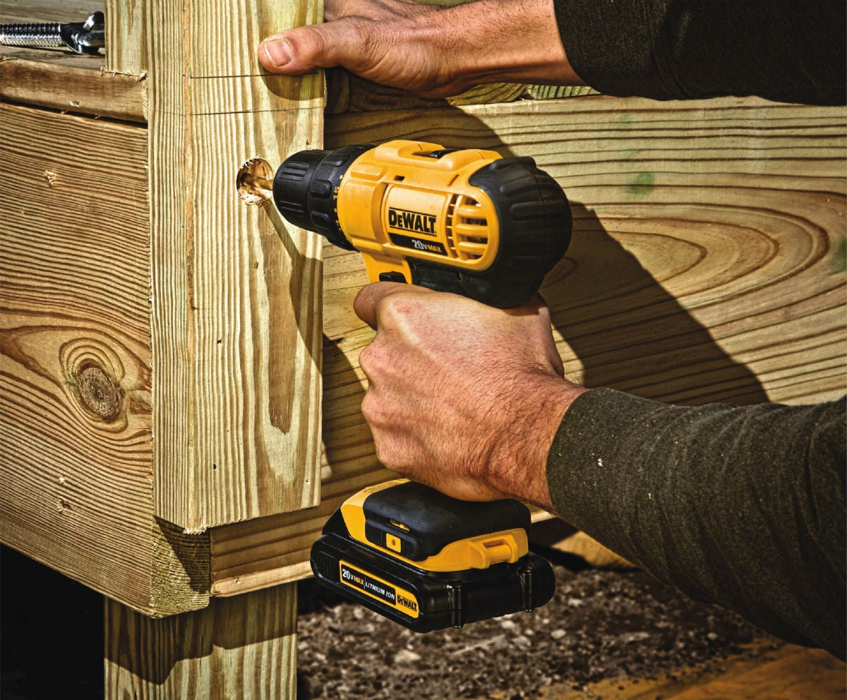 Best Cordless Drill for Large-Scale Projects: DeWalt 20V Max Cordless Drill