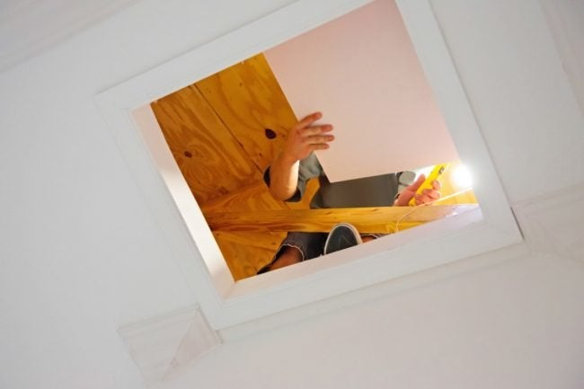 How to Find a Roof Leak in the Attic