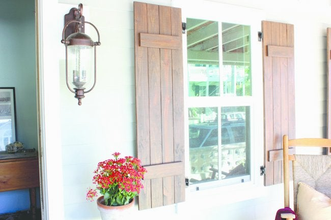 Wood Pallet Ideas - Shutters
