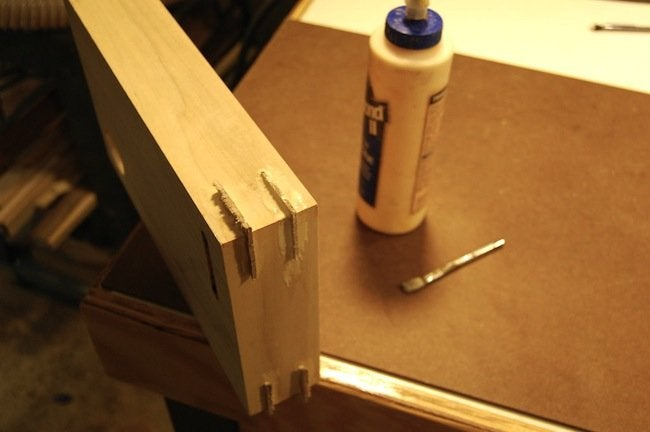 DIY Gramophone - Corner Splines