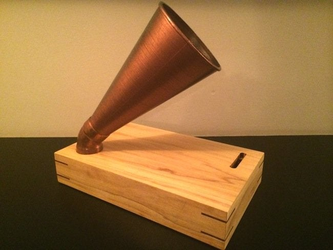 DIY Gramophone - finished