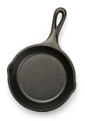 How to Season Cast Iron - Skillet Isolated
