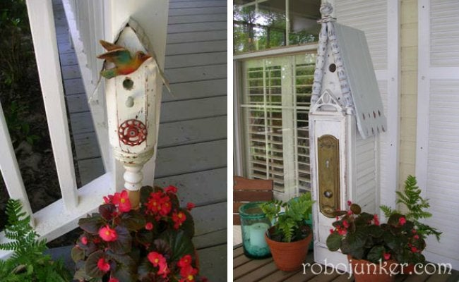 Stair Spindle Birdhouses