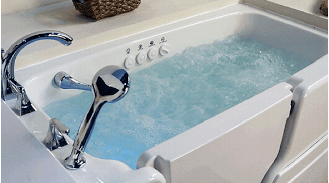 Walk-In Jacuzzi Tub - Water
