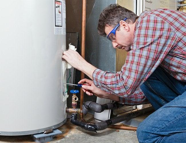 Flushing a Water Heater