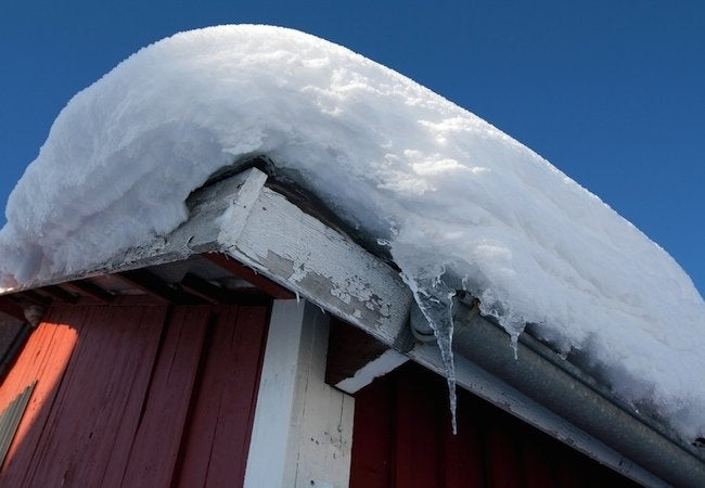 How Much Snow Can A Roof Hold Bob Vila