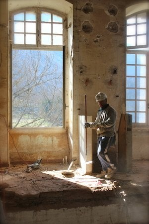 Chateau de Gudanes - Restorationists