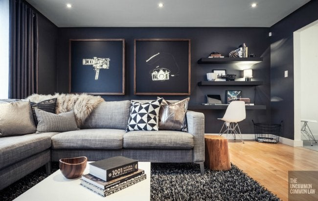 Living Room Makeover - Wall Hangings and Shelving