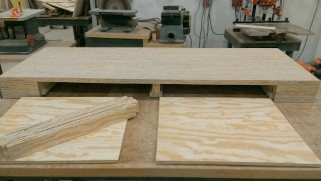 DIY Plywood Desk - Drawer Construction