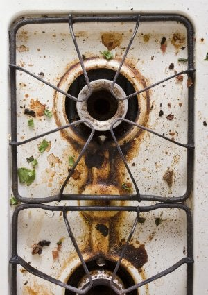 Dirty Stove Burners