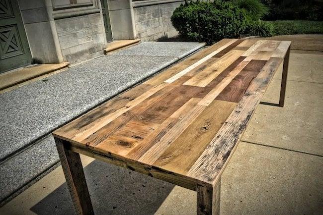 Reclaimed Wood Bench - Mwanzi