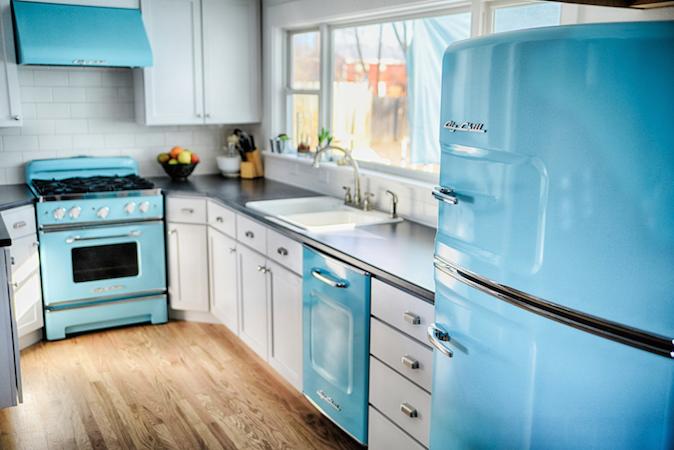 Big Chill Appliances - Blue Suite