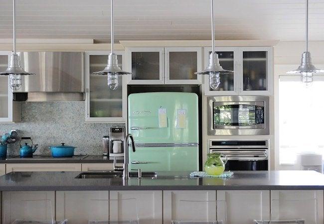 Big Chill Appliances - Lime Green Fridge