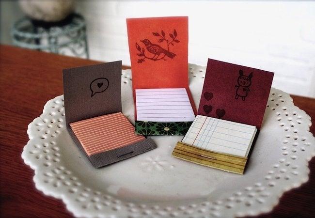 Matchbox Crafts - Notepads