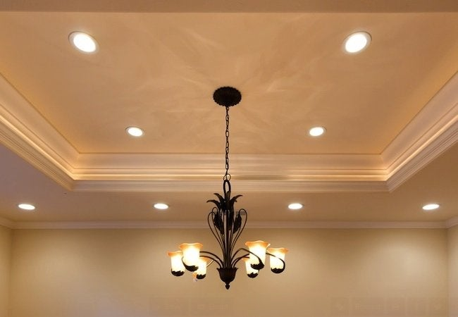 Recessed lighting installation bob vila how to install recessed lighting mozeypictures Images