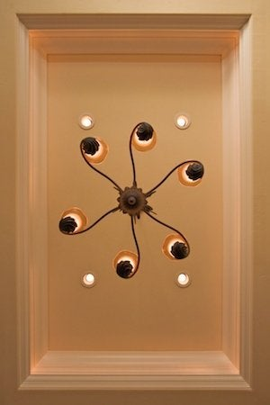 How To Install Recessed Lighting   Dining Room Detail