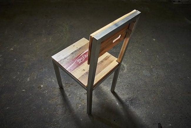 Reclaimed wood chair - mwanzi