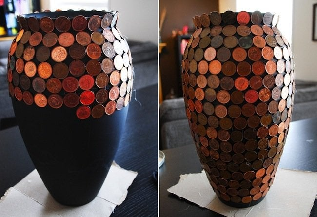 DIY Vase with Pennies - Thumbs Up - Bob Vila