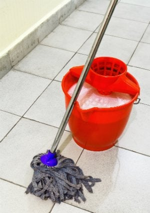 Homemade Floor Cleaner - Mop
