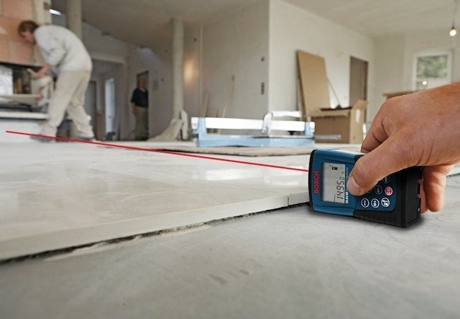 Bosch Laser Distance Measurer - At Work