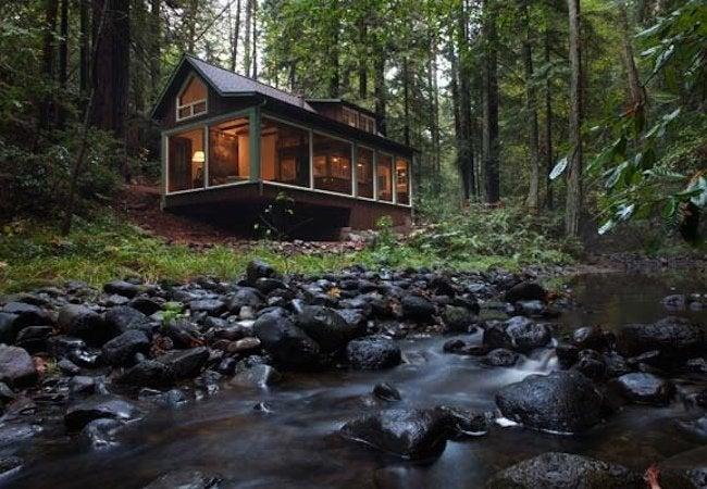 Amy Alper Creekside Cabin