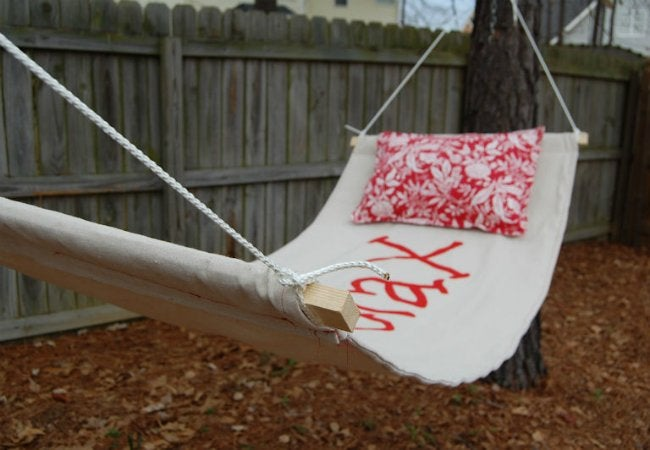 Uses for Drop Cloths - Hammock