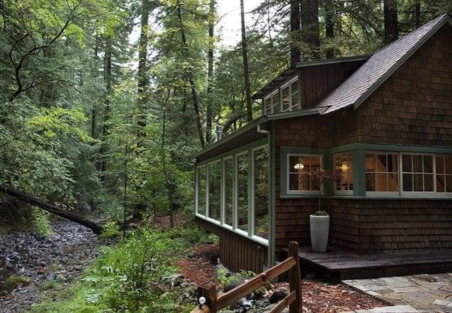 Amy Alper Creekside Cabin - Exterior