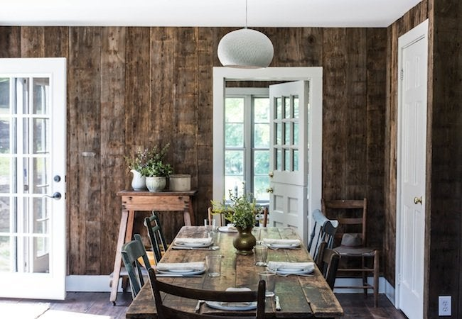 Jersey Ice Cream Co - Rustic Dining Table