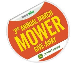 3rd Annual March Mower Give-Away