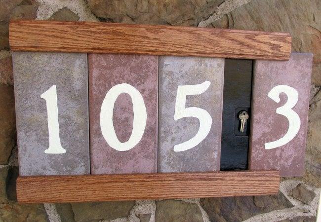 Reuse Tile - House Number