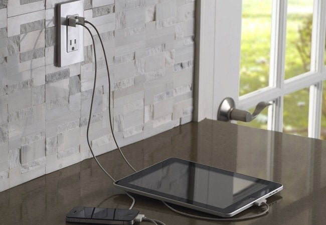 Leviton Wall Outlet USB Charger