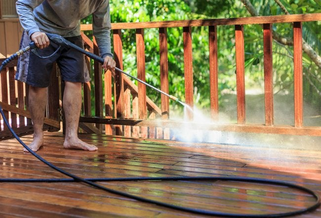 Does Pressure Washing Ruin Landscaping?